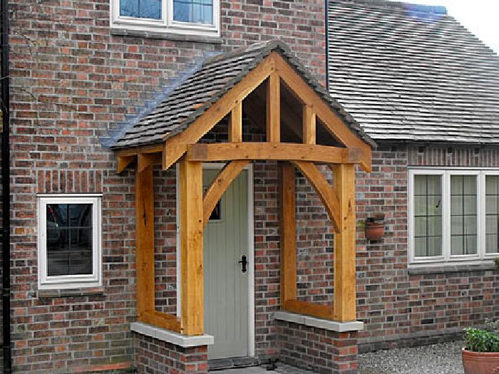 Bespoke wooden Porch Abingdon