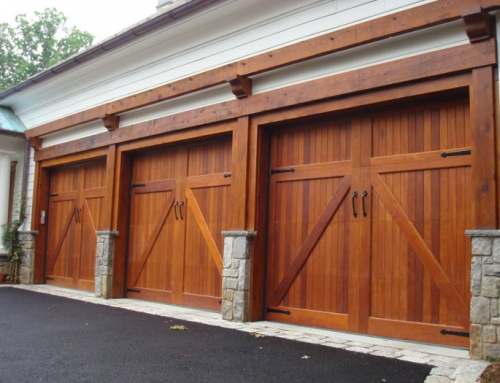 Garage and Workshop Doors for a Country Home near Woodstock