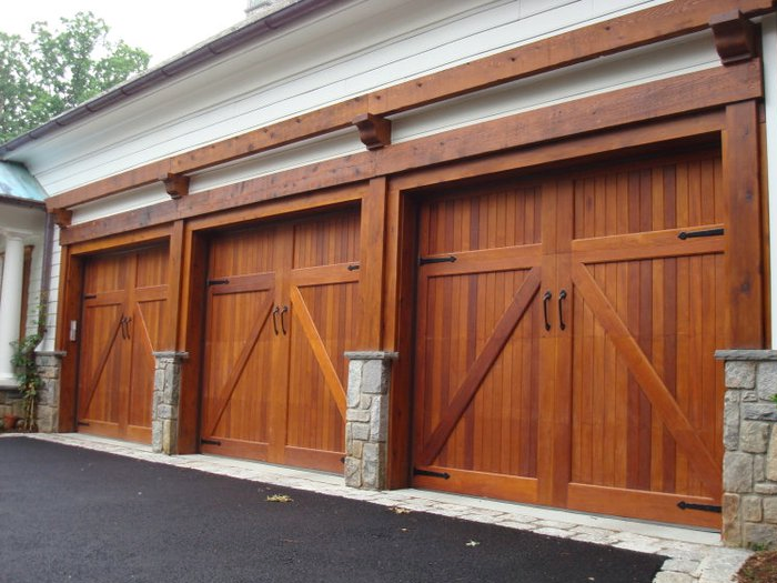 Making Garage Doors In Woodstock Conifer Joinery
