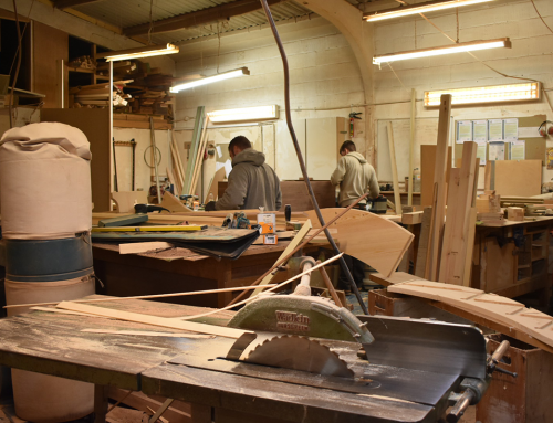 Workshop alterations to expand our joinery services