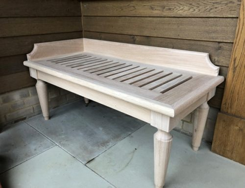 Bespoke Benches for Country Estate in Oxfordshire